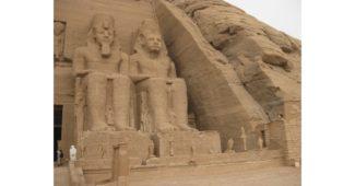 أين يقع معبد أبو سمبل