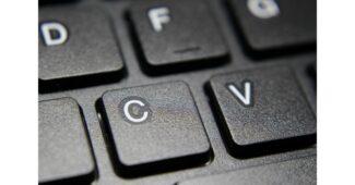 اختصار لصق في لوحة المفاتيح