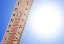 ما اسم مقياس درجة الحرارة؟