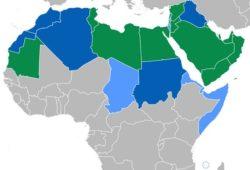 كم عدد الدول العربية في اسيا؟