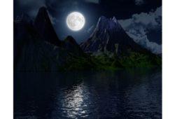 ما اسم ضوء القمر؟