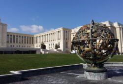 في أي دولة يوجد قصر الأمم؟