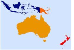 في أي قارة تقع أستراليا؟