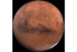 كم تبلغ درجة الحرارة في المريخ ؟
