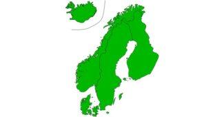 كم مساحة النرويج