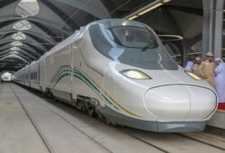 كم يبعد قطار الحرمين عن مطار جدة؟