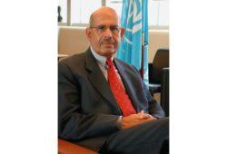 ما اسم المصري الذي كان مديرا للوكالة الدولية للطاقة الذرية؟